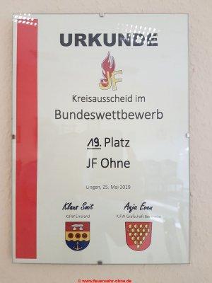 20190525 1916 Urkunde